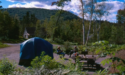 Picture of EstablishmentParc national de la Mauricie / Camping Rivière-à-la-Pêche