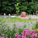 Jardins et aire de jeux
