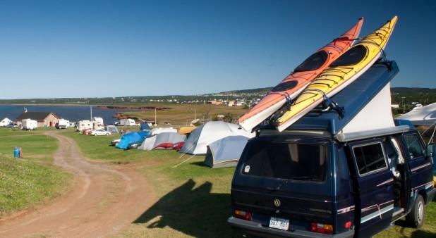 Tentes et kayak