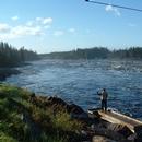 Parc et pêcheur
