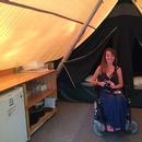 Tente Huttopia accessible