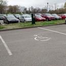 Espace de stationnement réservé