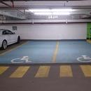 Espaces de stationnement réservés intérieurs