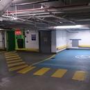 Espace de stationnement réservé intérieur