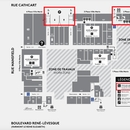 Plan pour accès à la Place Ville-Marie