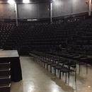 Espaces réservés dans la salle de spectacle