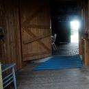 Rampe d'accès menant à la salle de toilette