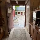 Rampe d'accès intérieure du Moulin à farine