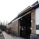 Entrée principale du bâtiment d'accueil (rez-de-chaussée)