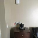 Contrôle électrique abaissé avec meuble pouvant être déplacé