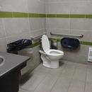 Toilette près de l'accueil