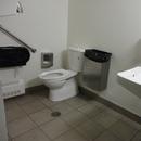Salle de toilette située près de la cafétéria