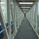 Gare fluviale de Godbout_Passerelle intérieure