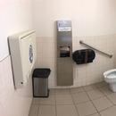 Salle de toilette accessible femmes - 1er étage