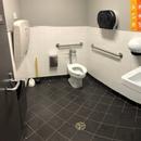 Salle de toilette mixte accessible