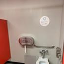 Salles de toilette situées au 2e étage, situées près des ateliers