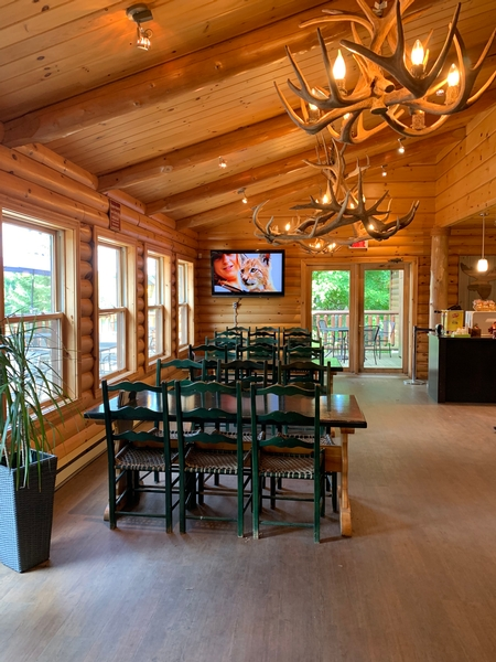 Salle à manger du Casse-Croute - Maison du Parc