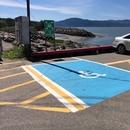 Stationnement réservé de la gare fluviale de L'Isle-aux-coudres