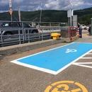 Stationnement réservé de la gare fluviale de Saint-Joseph-de-la-Rive