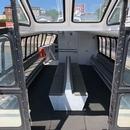 Intérieur du Navark Nydam non accessible pour les personnes se déplaçant en fauteuil roulant