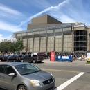 Vue extérieur du Grand Théâtre pendant les travaux de rénovation