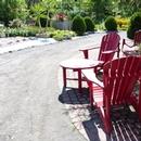 Chemin principal des jardins, accessible