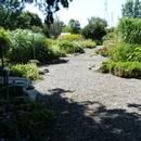 Partie des jardins partiellement accessible