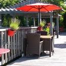 Tables et chaises des jardins