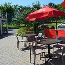 tables de la terrasse