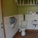 Toilettes près du restaurant