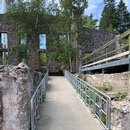 Rampe d'accès au Jardin des vestiges