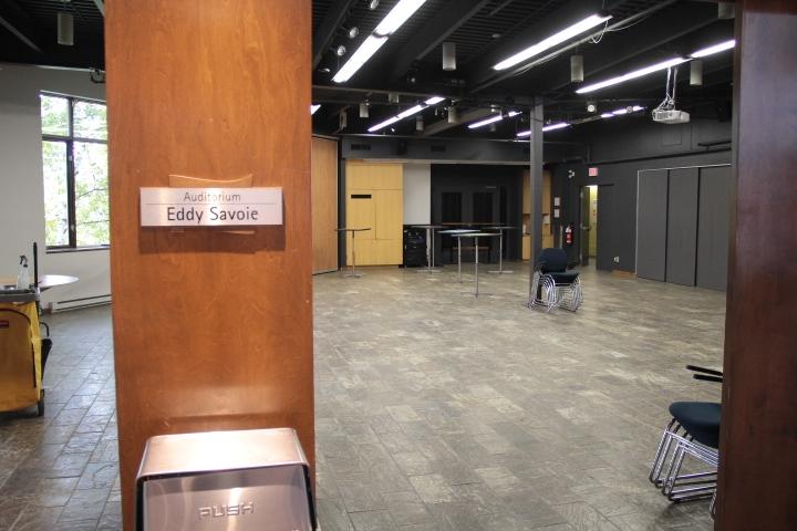 Salle Eddy Savoie - niveau 1