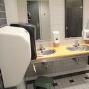 Salle de toilette hommes - niveau 1