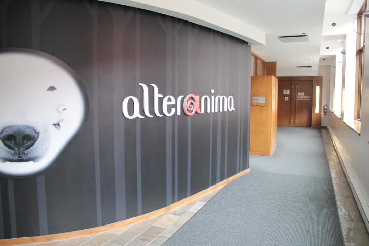 Accès à la salle AlterAnima - niveau 3
