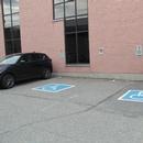 2 stationnements extérieur à l'arrière