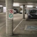 Garage - stationnement intérieur sans allée latérale