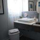 Cabinet de toilette accessible