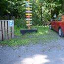 Places réservées dans le stationnement