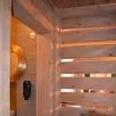 Porte des toilettes de la salle de réception