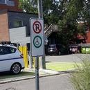 Places réservées dans le stationnement public