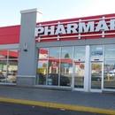 Façade de la pharmacie (vente des titres STM)