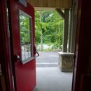 Porte d'entrée de la mini-ferme