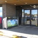 Porte d'entrée du centre commercial