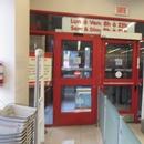 Porte d'entrée et de sortie intérieures