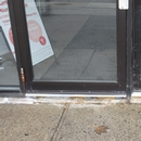 Seuil de la porte d'entrée de 3 cm