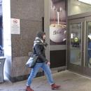 Entrée du centre commercial menant à la pharmacie (rue Atwater)