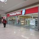 Façade de la pharmacie (vente des titres STM) dans le centre commercial