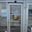 Porte de l'entrée indépendante de la pharmacie