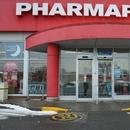 Allée vers l'entrée de la pharmacie