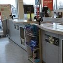 Comptoir de caisse - point de vente de titres STM